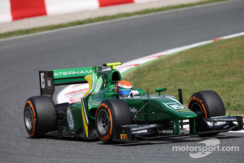 Alexander Rossi grinds out points in Barcelona