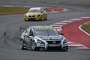 V8 Supercars Race report Rick Kelly and his Nissan take top 10 clean-sweep in Austin