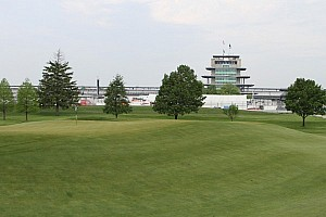 IndyCar Special feature At the Brickyard Crossing Golf Course Par is Over 220