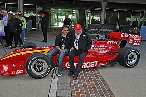 IndyCar Breaking news Zanardi gifted with Ganassi car from Laguna Seca race in 1996