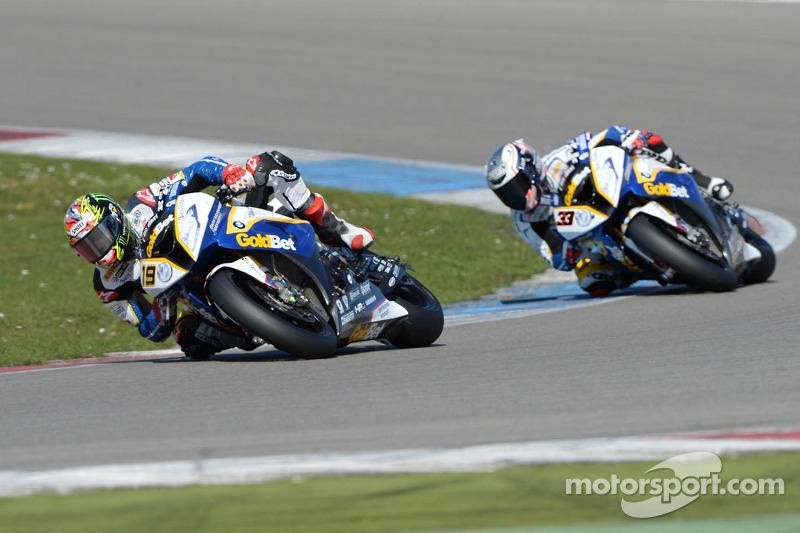 BMW factory drivers performed well in Superpole at Donington Park