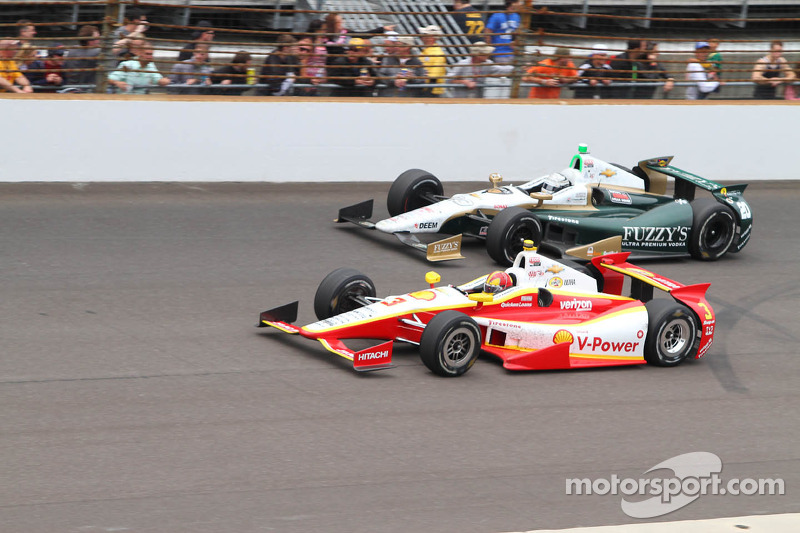 Two Penske drivers are top-seven in 97th Indianapolis 500