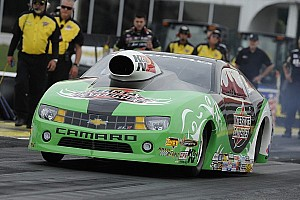 NHRA Qualifying report Millican, Hagan, Edwards and Johnson earn No. 1 qualifying positions at Englishtown Summernationals