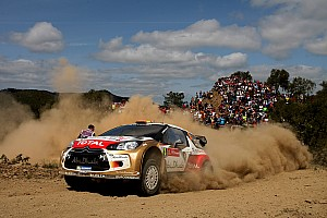 WRC Leg report Sordo and Hirvonen apply themselves in Day 2 of Rally Acropolis