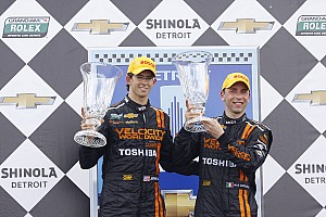 Grand-Am Race report Team Chevy scores double win in Detroit