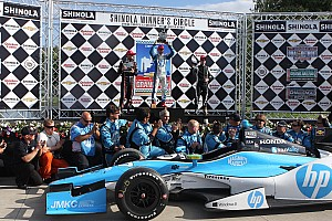 IndyCar Race report Pagenaud scores first series win at Detroit's Belle Isle Park
