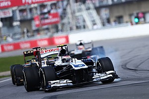 Formula 1 Breaking news Bottas hopeful of Williams contract extension