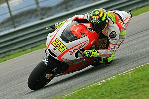 Warm conditions for Pramac Racing free practice at Catalan GP