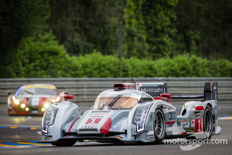 Le Mans field set; Audi has pole, ALMS/GRAND-AM entrants eye podiums