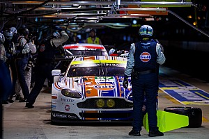 Le Mans Breaking news Aston Martin leads Le Mans at sixteen-hour mark