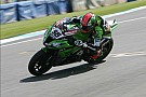 Sykes rode his Kawasaki to Imola Superpole