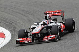 McLaren had a little bit of progress on Friday practice for the German GP