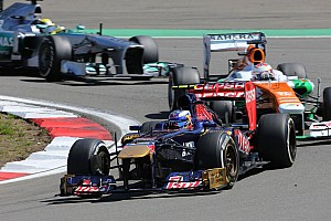 Formula 1 Race report Toro Rosso disappointed with result on German GP