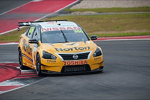 V8 Supercars Race report Nissan Motorsport holds position on Townsville streets