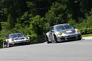 ALMS Practice report Dempsey on pace in opening practice at Mosport
