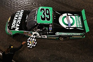 Austin Dillon wins first NCWTS race on dirt at Eldora