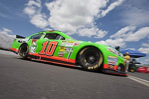Danica Patrick before Brickyard 400 race