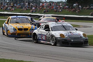 Grand-Am Race report Magnus Racing earns Brickyard Grand Prix podium and holds GT points lead
