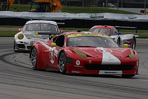 Grand-Am Race report Scuderia Corsa Ferrari brings home another top 5 after exciting day at Brickyard 500