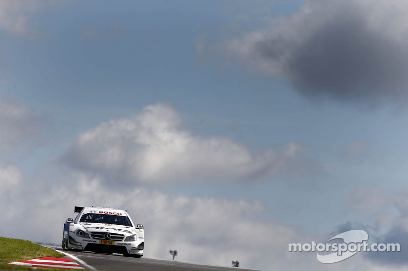 Paffett best Mercedes-Benz driver in first DTM qualifying in Russia