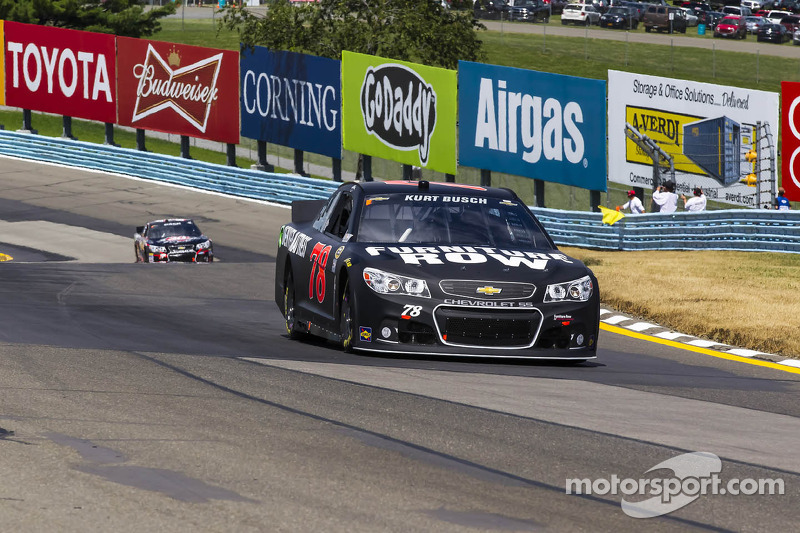 Kurt Busch posts 9th-place finish in Watkins Glen road race