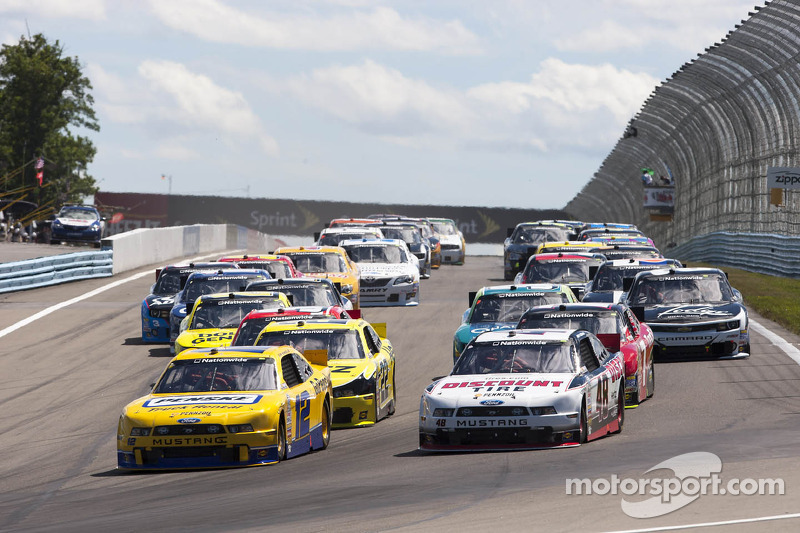 Hometown favorite Hornish returns to Ohio amidst tight points battle