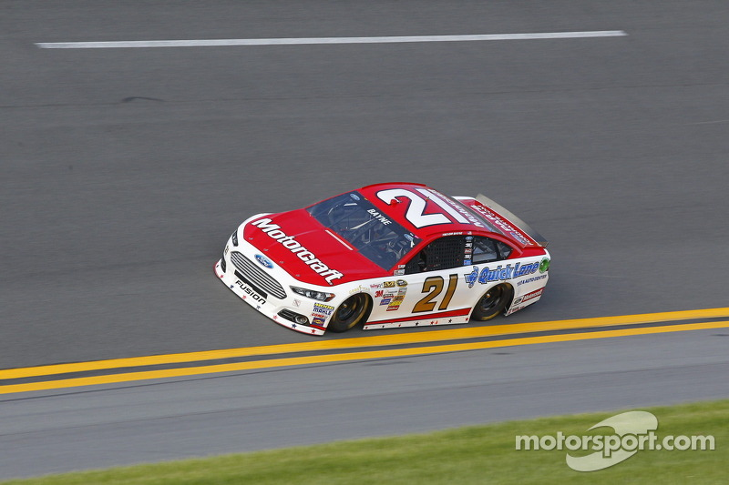 Trevor Bayne looking for strong finish at Ford's home track at Michigan