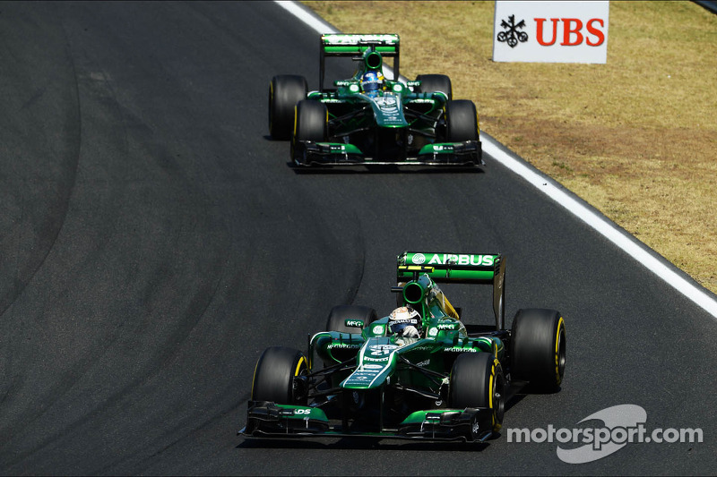 Caterham targets early call over 2014 drivers