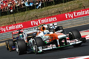 Force India on Grand Prix of Belgium