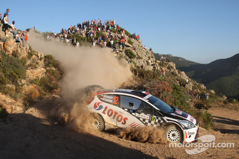 Back pain forces Kosciuszko retirement from Rallye Deutschland