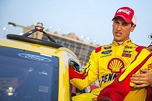 NASCAR Sprint Cup Breaking news Was there a deal between Logano and Gilliland at Richmond?