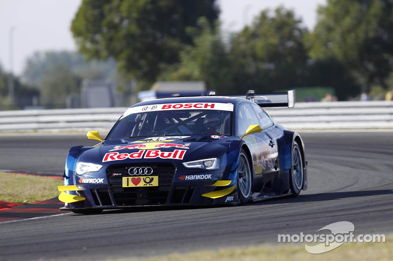 Audi with strong qualifying performance at Oschersleben