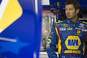 NASCAR Sprint Cup Breaking news Truex Jr. is miffed