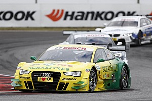 DTM Race report Audi scores points at Oschersleben with all eight cars