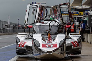 DeltaWing coupe leads morning practice at Texas