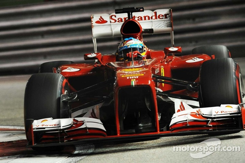 Singapore GP qualifying: Sixth and seventh for the Scuderia Ferrari