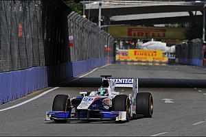 Unlucky Race 1 for Trident Racing in Singapore