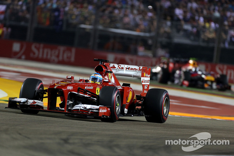 Singapore GP: Alonso a brilliant second, Massa sixth