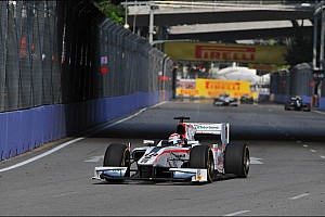 GP2 Race report First lap decisive for Coletti in Singapore's Sprint Race