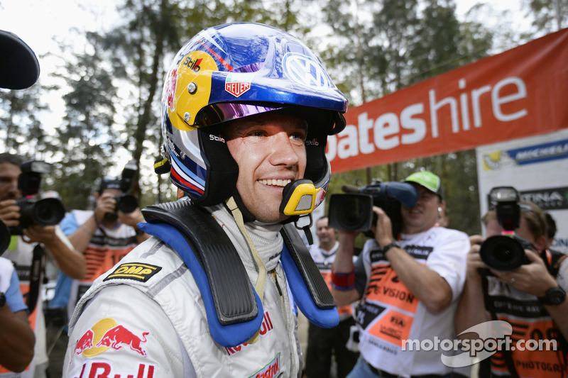 Sébastien Ogier in 'Historic' run at Rallyday 2013