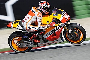 MotoGP Practice report Marquez grabs lead in Aragon afternoon practice session