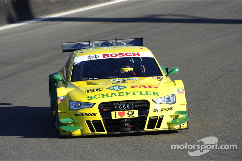 Audi driver Mike Rockenfeller strong again in qualifying at Zandvoort