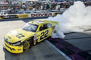 NASCAR XFINITY Race report Logano keeps Dover winning streak going