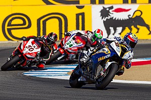 Podium finish for BMW Motorrad GoldBet SBK Team at Laguna Seca