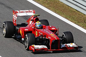 Formula 1 Qualifying report An all-red third row at tomorrow's race start at Yeongam