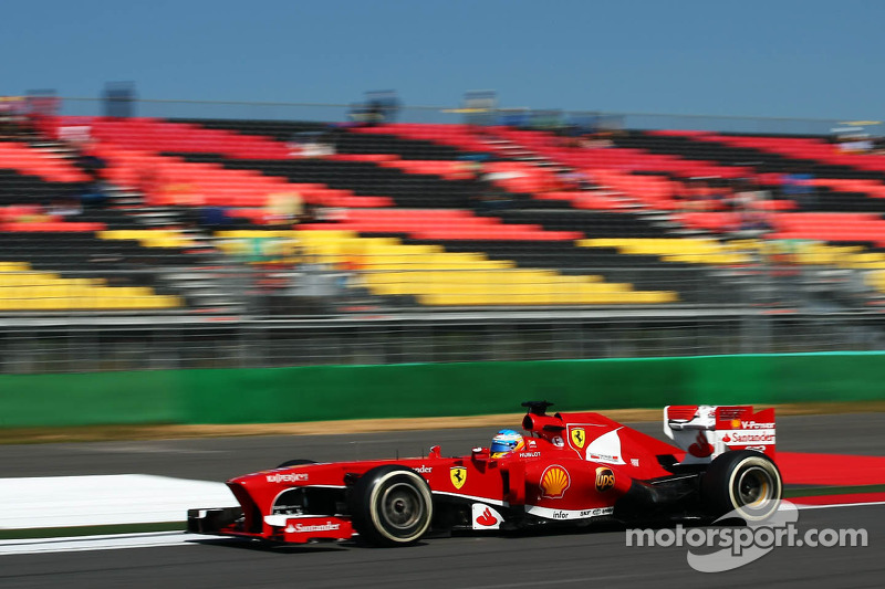 An all-red third row at tomorrow's race start at Yeongam