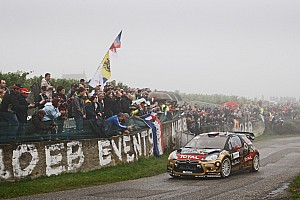 WRC Leg report Sordo and Loeb both in fight for victory in Rally France
