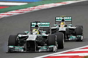 Formula 1 Commentary Mercedes drivers want Brawn to stay