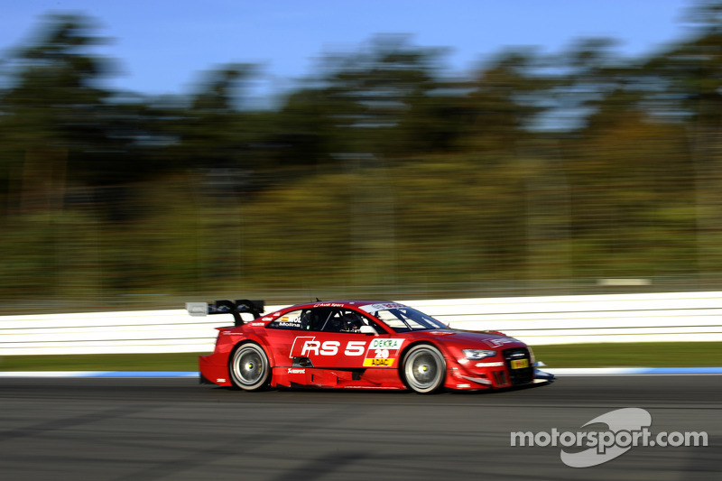 Audi in the role of the hunter at DTM finale at Hockenheim