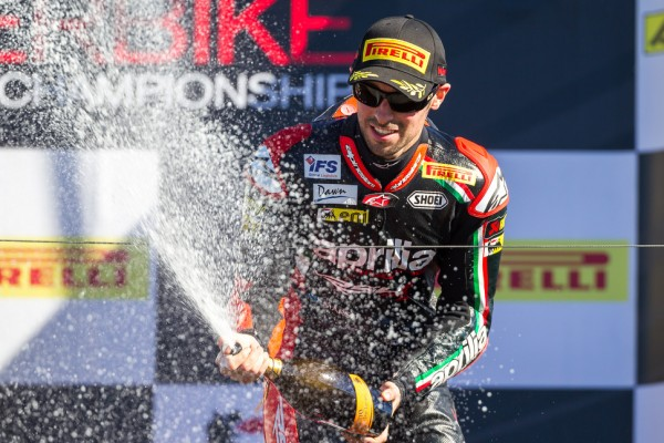 Laverty wins Race 1 as Sykes clinches the title